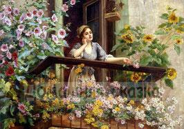 Девушка на балконе (Л-15)