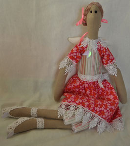 Тильда -фея в розовом