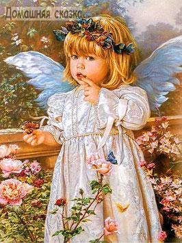 Ангел с бабочками (Д-12)