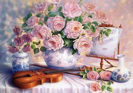 Розы и скрипка )(ЦР-5)