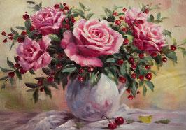 Розы и ягоды, (ЦР-8)