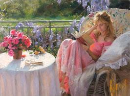 Девушка с книгой (Л-2)