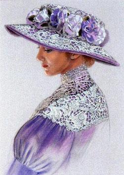 Дама в голубом (Л-13)