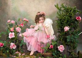 Ангел с розами (Д-22)