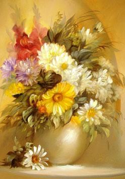 Хризантемы и гладиолусы (Ц-42)
