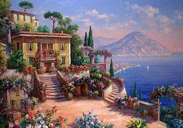 Цветы, море, горы (П-49)