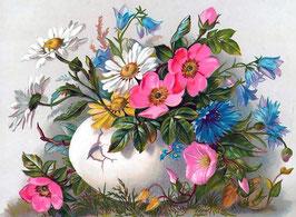 Полевые цветы и шиповник (Ц-21)