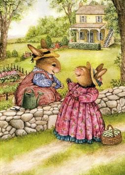 Встреча двух кроликов (М-12)