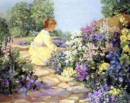Девушка в саду (Л-7)
