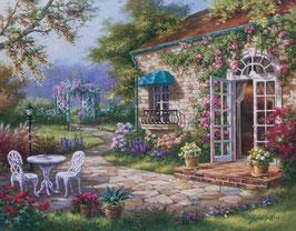 Домик с садом (П-40)