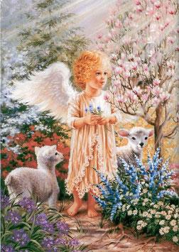 Ангел с овечками  (Д-25)
