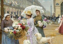 Продавщица цветов  (собака)  (Л-28)