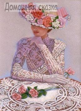 Дама с розами (Л-5)