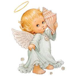 Ангелок с ракушкой (АП-12)