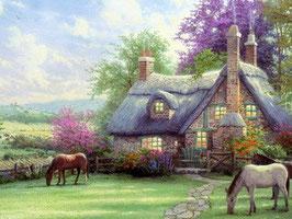 Усадьба с лошадками (П-7)