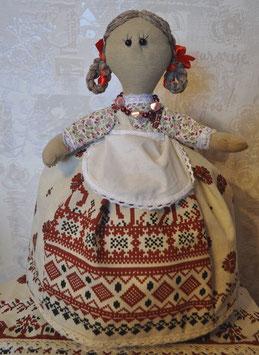 """Кукла-грелка на чайник """"Русская красавица"""""""