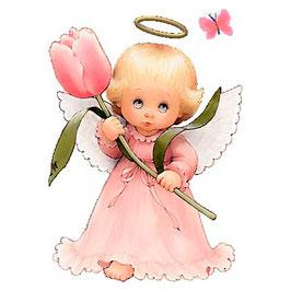 Ангелок с тюльпаном (АП-10)