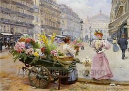 Продавщица цветов (Л-20)