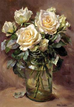 Белые розы(ЦР-2)