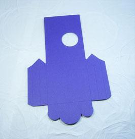 Papierrohling Seitenfaltverpackung mittel - Rund