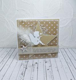 Weihnachtskarte 40 - frohe Weihnachten...