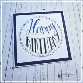 Lettering Geburtstag 22
