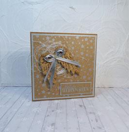 Weihnachtskarte 19 - fröhliche Weihnachten