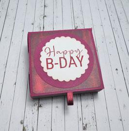 Geburtstag Teelichtbotschaft 10 - Happy B-Day