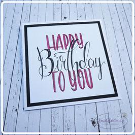 Lettering Geburtstag 4