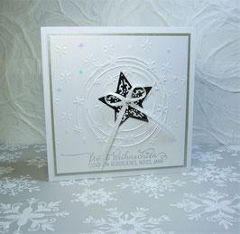 Weihnachtskarte 2 - Frohe Weihnachten und ein glückliches, neues Jahr