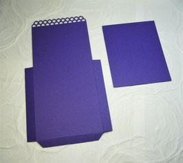 Papierrohling Bestecktasche 4
