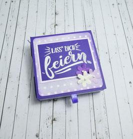 Geburtstag Teelichtbotschaft 3 - Lass dich feiern