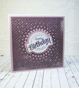 Geburtstag 17 - Happy Birthday