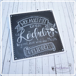 Lettering Spruch 2