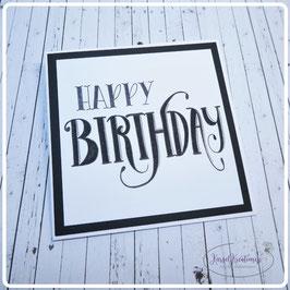 Lettering Geburtstag 6