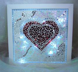Mosaik Leuchtbild 1 - Herz