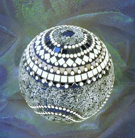 Mosaikkugel-Lampe Spiegel