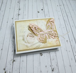 Memobox 2 - Schmetterling/Rose
