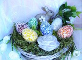 Mosaik-Eier