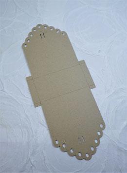 Schokokugeln Papierrohling