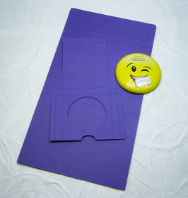 Süsse Karte Papierrohling - Smiley