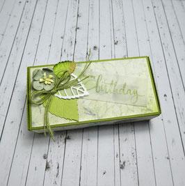 Küchlein Verpackung 1 - Happy birthday