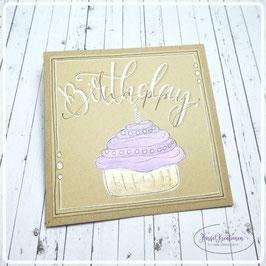 Lettering Geburtstag 8