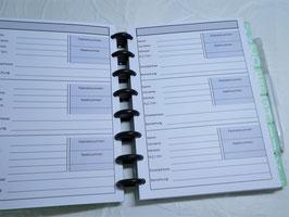 Adressbuch Innenseiten -