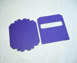 Papierrohling Schiebeschachtel - Schokotäfelchen