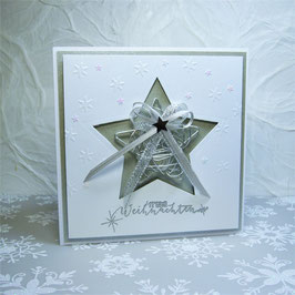 Weihnachtskarte 7 - Frohe Weihnachten