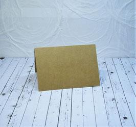 Wunschkarte - Quadratische Minicard Kraft