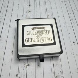 Geburtstag Teelichtbotschaft 7 - Herzlichen Glückwunsch...