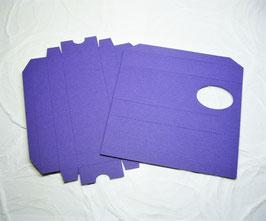 Papierrohling Schiebeschachtel - Schokostängel