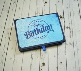 Schiebeschachtel kleine Schöggeli 3 - happy Birthday